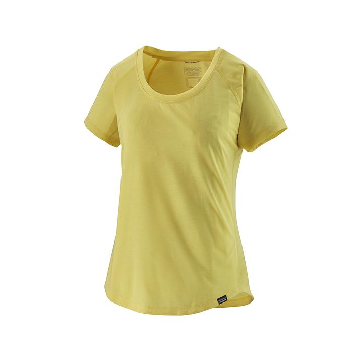 Patagonia Capilene Cool Trail Dames T-Shirt Pineapple - Monkshop
