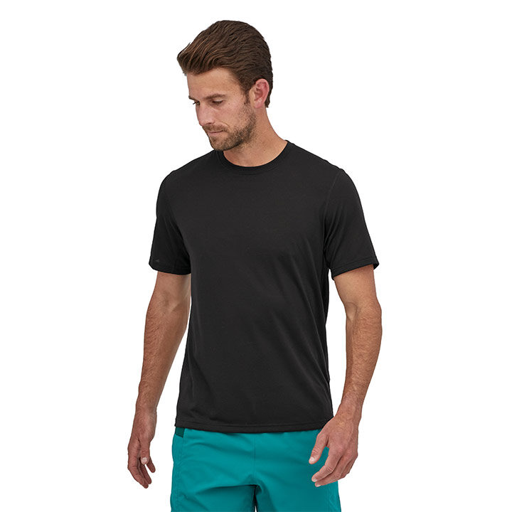 Patagonia Capilene Cool Trail Heren T-Shirt Black - Monkshop