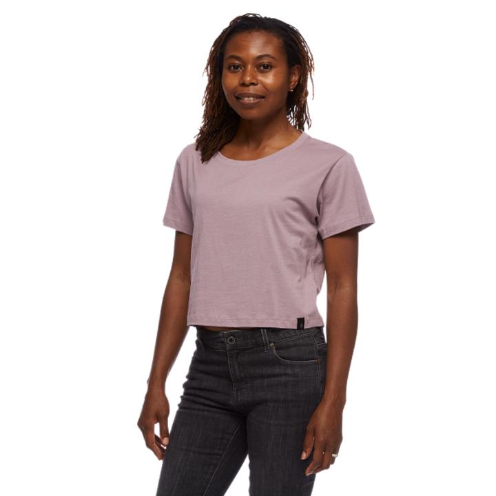 Black Diamond Pivot Dames T-Shirt Wood Violet - Monkshop