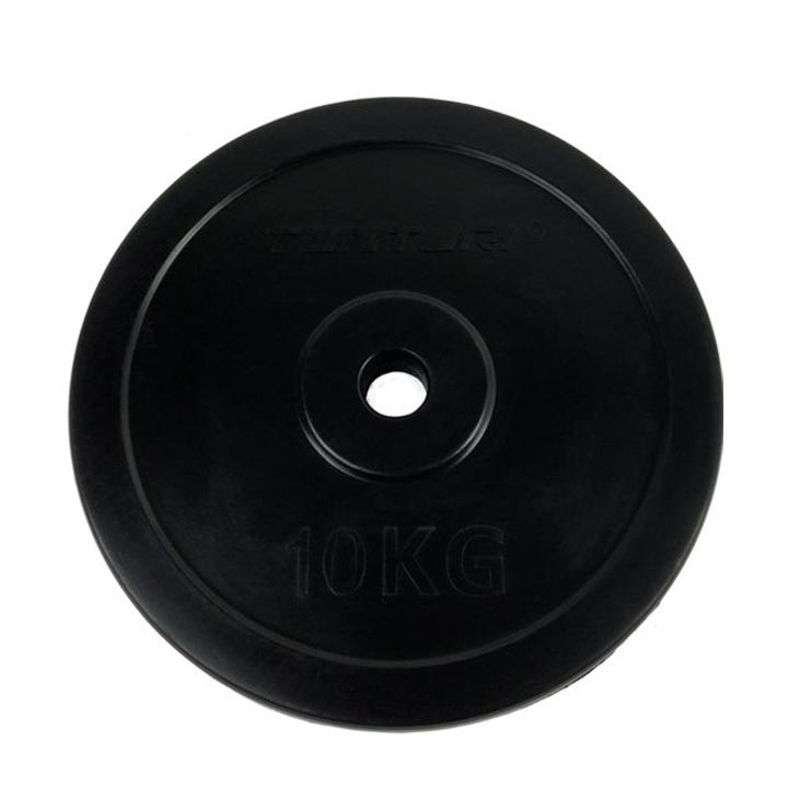 Tunturi Halterschijf Rubber 10 kg - Monkshop