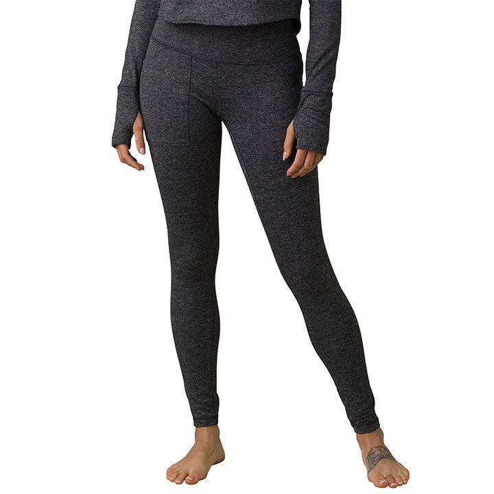 Prana Zawn Dames Legging Charcoal - Monkshop